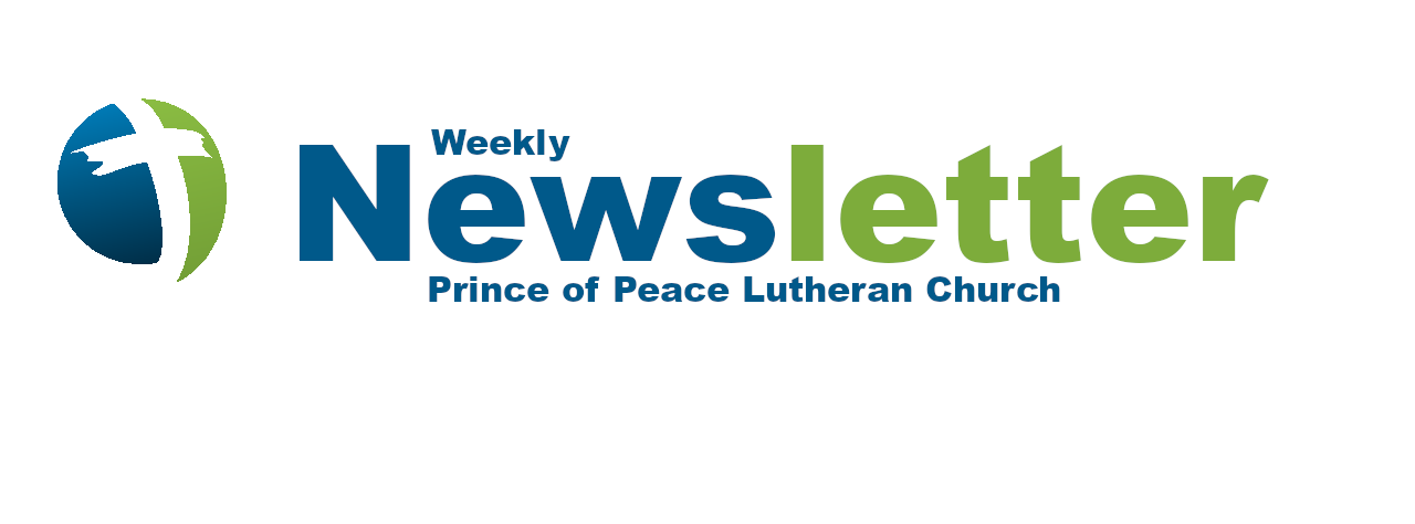 Weekly Newsletter 12/11/2020