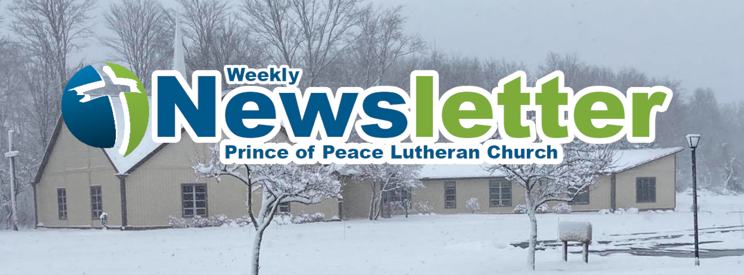 Weekly Newsletter 12/20/2020
